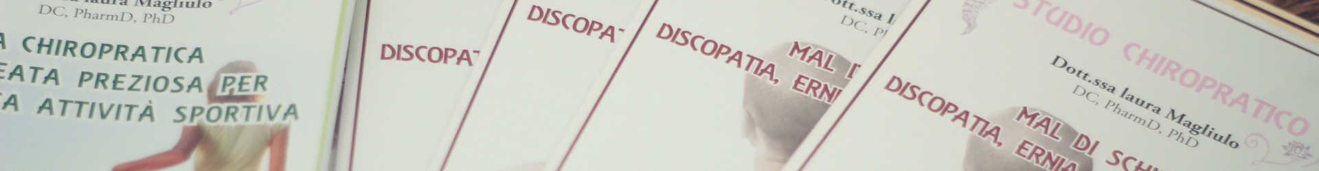 CHIROPRATICA E ALTRI DISTURBI